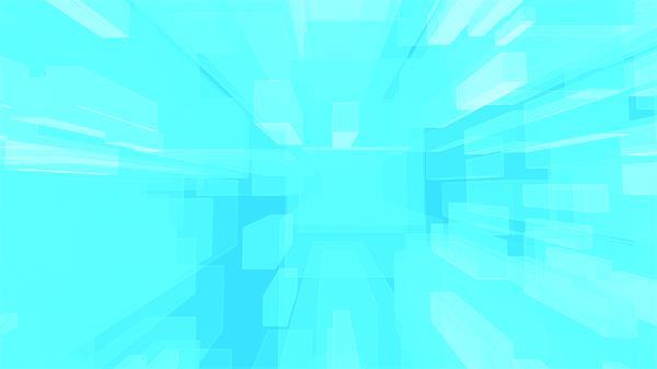 梦幻科技视觉浅蓝色方块移动网络互联网效果LED背景视频素材