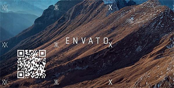AE模板 酷炫动感跳动电子毛刺电影视觉效果开场片头模板 AE素材