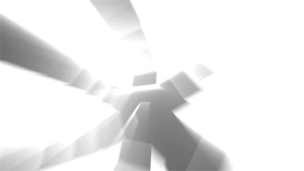 炫光层叠光芒照射盒子动感移动慢动作展?#37202;?#24149;VJ背景视频素材