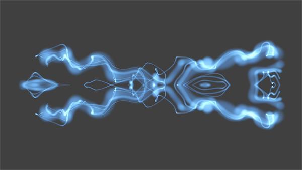 梦幻炫酷光效烟雾运动汇聚移动变幻视觉冲击屏幕背景视频素材