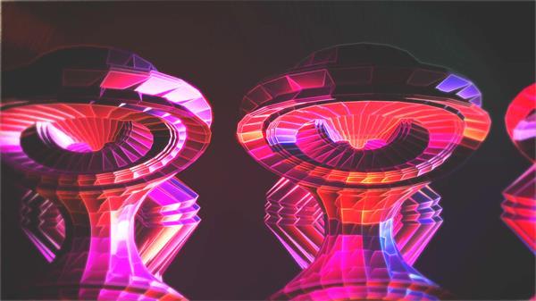 潮水时髦动感流体视觉结果变革外形独特场景VJ屏幕配景视频素材
