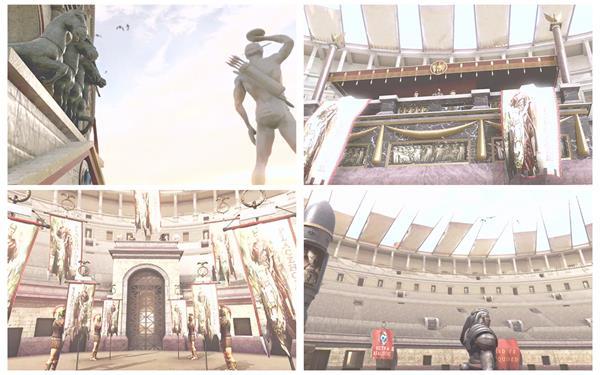 AE模板 3D虚拟空间罗马斗兽场古建筑动画宣传片揭示模板 AE素材