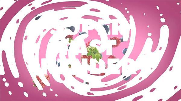 AE模板 颜色丰厚时髦图片光圈渲染创意动画LOGO幻灯片模板 AE素材