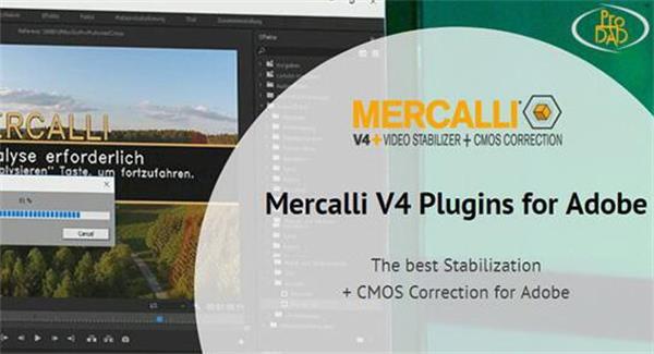AE插件:Ae/Pr视频稳定?#34013;?#30011;面修复插件proDAD Mercalli v4.0.47