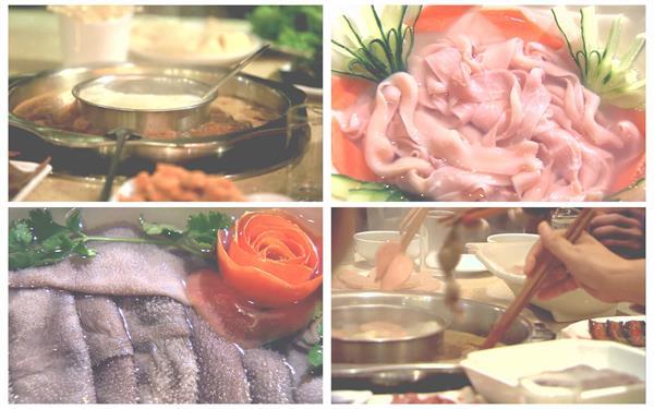 舌尖上的美食重庆麻辣暖锅鲜味新颖食材镜头特写高清视频实拍