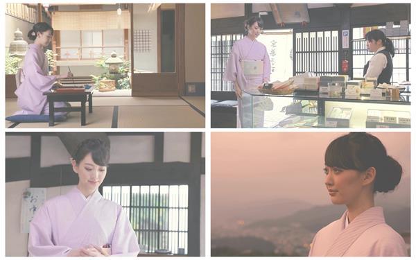 日本东京美女穿着古典日式人文和服悟道一天高清视频实拍