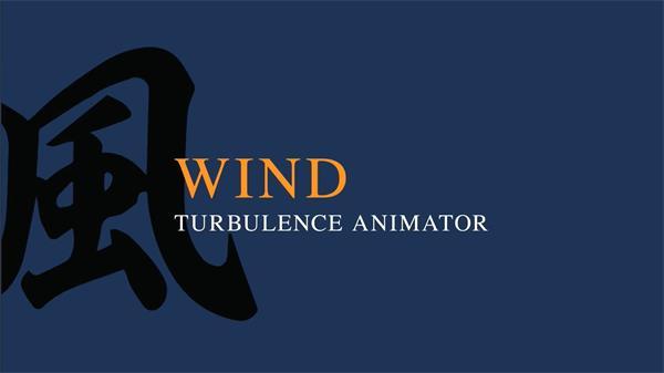 AE插件:物体粒子被风吹飘散汇聚动画 AEscripts Wind v1.00