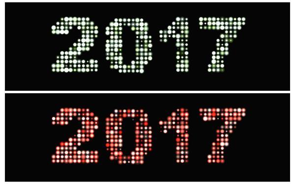 闪亮小光点规律排列2017闪烁变幻颜色晚会开场背景视频素材