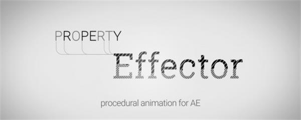 AE插件:多�D��傩孕Ч�控制砰�_本AEscripts Property Effector 1.