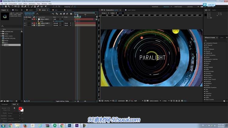 AE插件:分层视频动画差三维摄像机视觉图像P景深大疆go图片