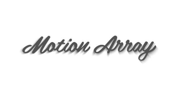 AE模板 炫酷古怪獨特創意字體變化3D標志動畫幻燈片模版 AE素材