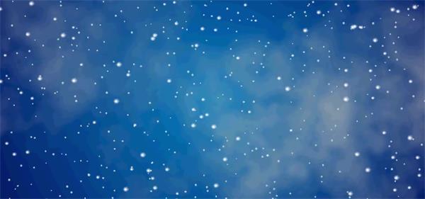 唯美夜空雪颗粒慢慢飘落温馨浪漫下雪场景动态屏幕视频素材