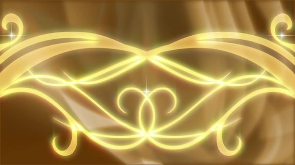 金碧辉煌大气条纹流畅滑动艺术图案婚礼屏幕背景视频素材