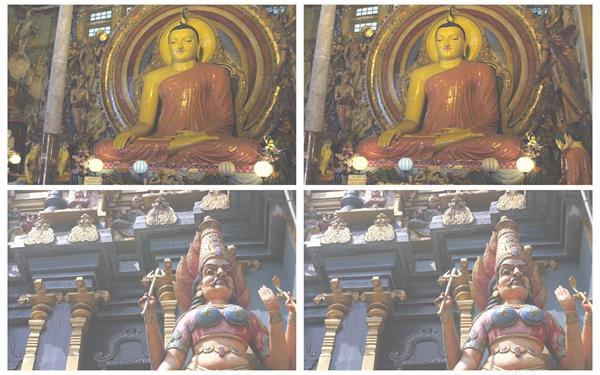 歷史悠久傳統文化古典佛教建筑物寺廟佛像近鏡頭高清視頻實拍