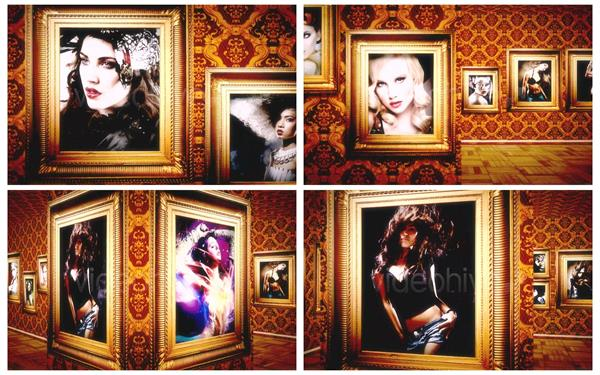 AE模板 奢华大气3D场景照片墙展现欣赏视觉幻灯片提醒模板 AE素材