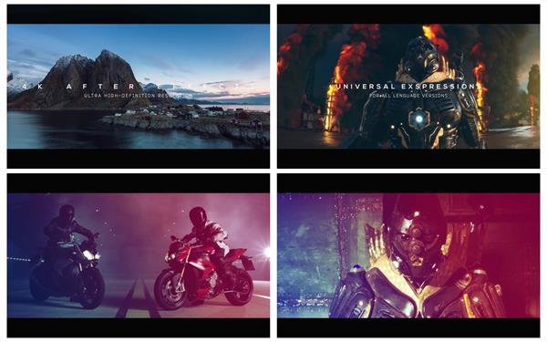 AE模板 震撼动感大气加速渲染演绎视频演示宣传预告片模版 AE素材