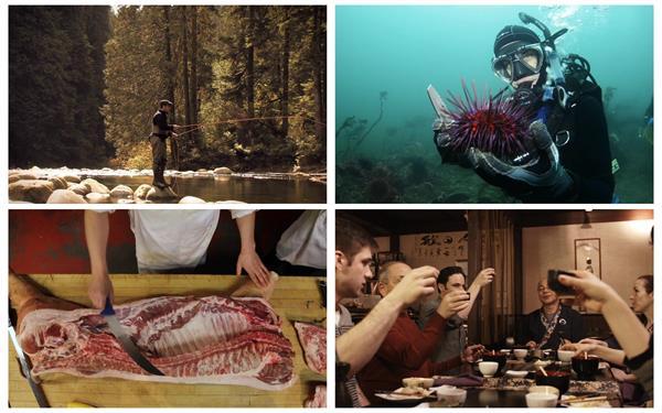 假日写意游玩海潜水钓鱼聚餐新鲜美食多款休闲生活镜头高清视频实