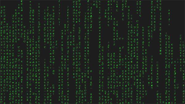现代化科技电脑数据计算代码传输运动网络技术场景视频素材