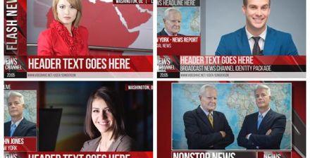 电视节目、新闻、体育栏目包装影视栏目包装AE模板 视频素材