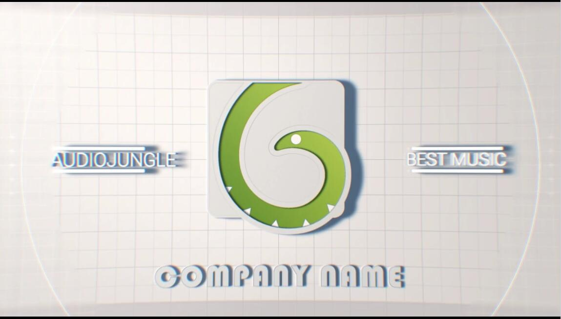 AE模板 现代科技时尚简约快速切换白色背景标题模板 AE素材