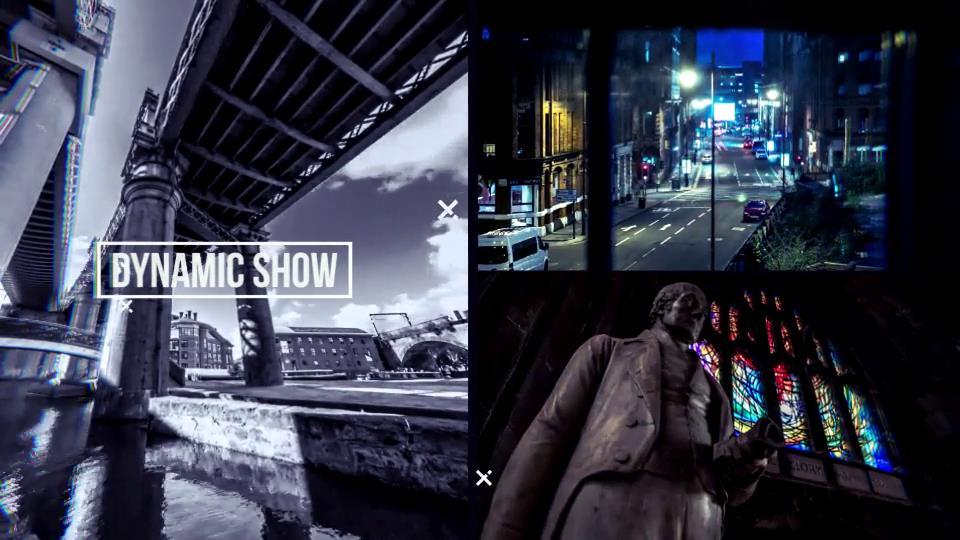 AE模板 多镜头现代城市风景宣传开场幻灯片切换模板 AE素材