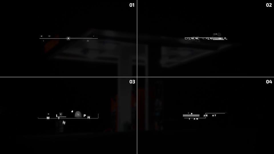 AE模板 多样式创意现代科技感故障效果黑白标题动画模板 AE素材