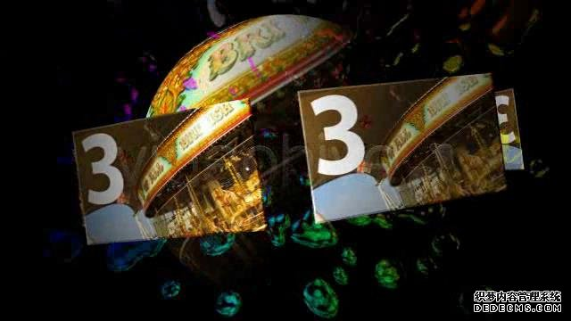 AE模板 万花筒水滴镜面效果循环展示图像动画模板 AE素材