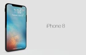 C4d模型 苹果十iphone X三维机身模型