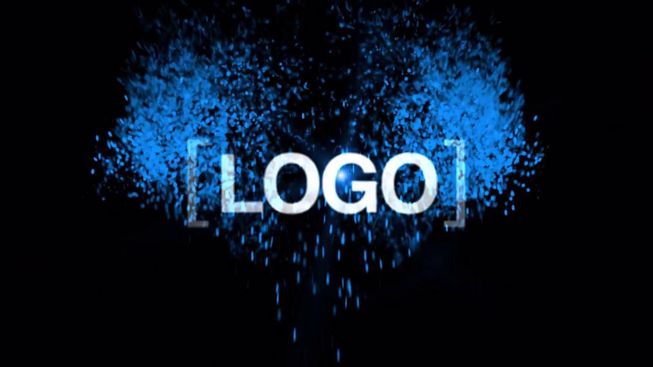 AE模板 唯美粒子火花飞溅动画展现标志LOGO模板 AE素材