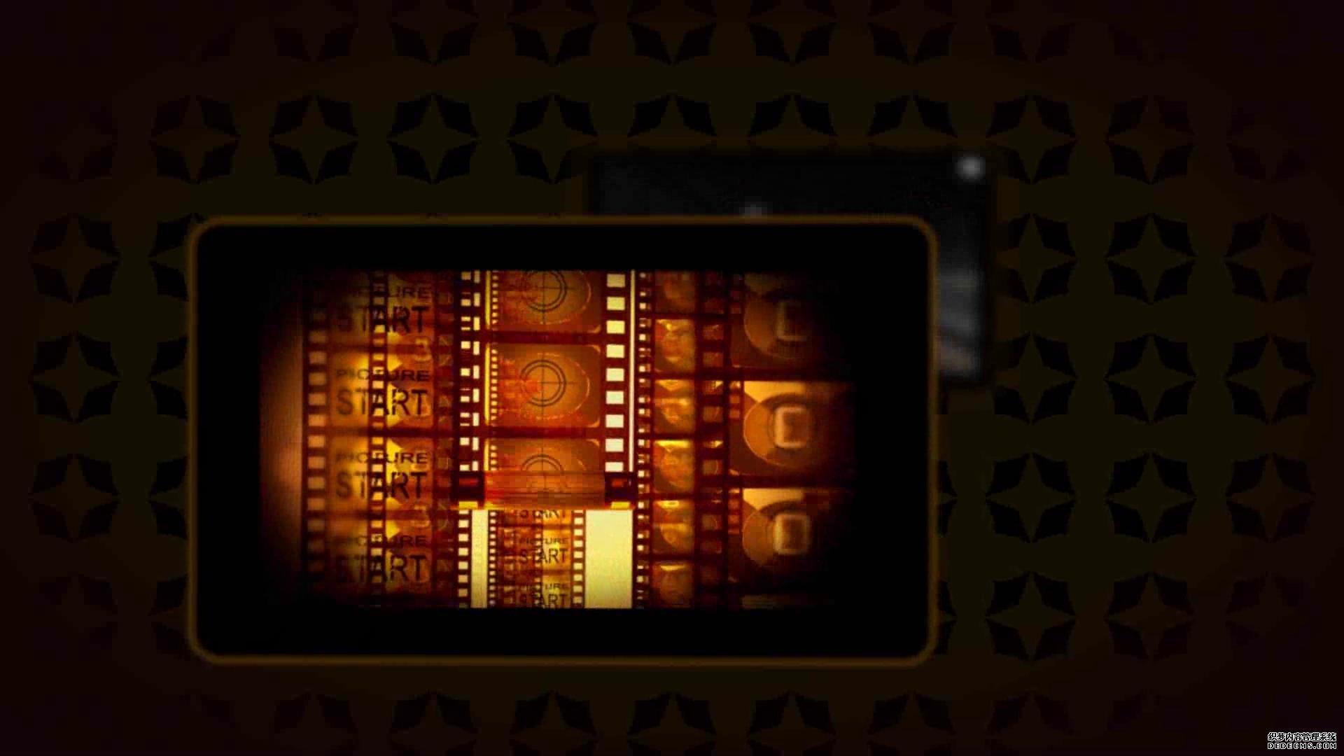 AE模板 企业展现画框水点静态视频殊效模板 AE素材