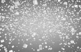 C4D模型三维破碎方块汇聚标志LOGO动画片头模板 C4D下载