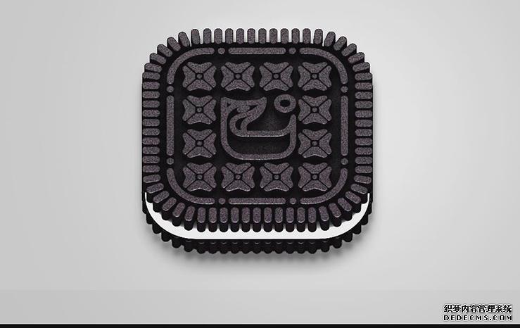 c4d-奥利奥饼干图标-92素材网_ae模板,视频素材免费