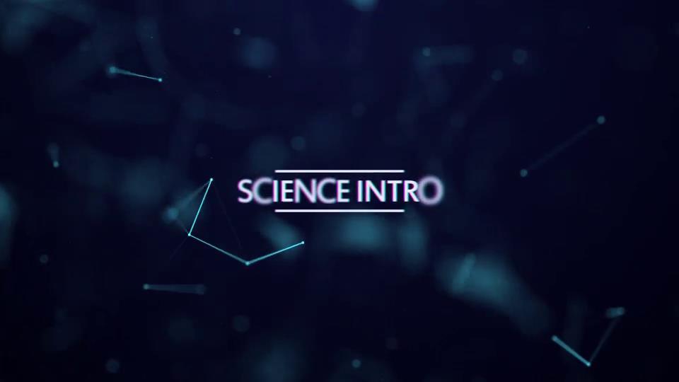 AE模板 酷炫高科技生物科学物理研究包装动画模板 AE素材
