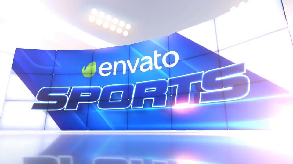 AE模板 比赛人物介绍体育运动电视新闻栏目包装模板 AE素材