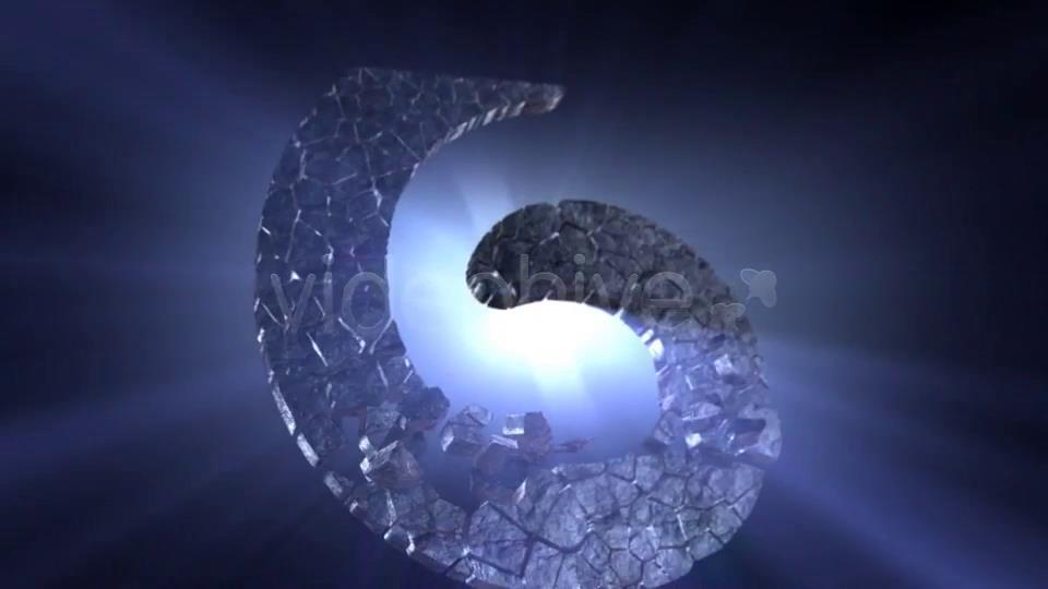 AE模板 震撼矿石粒子碎石块组合LOGO标志特效模板 AE素材