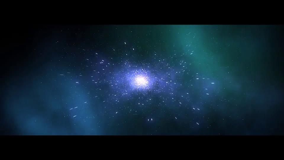 AE模板 宇宙空間穿越時空之門快速移動標志特效模板 AE素材